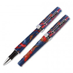 Stylo Roller collection J Esterbrook Rouge/Bleu