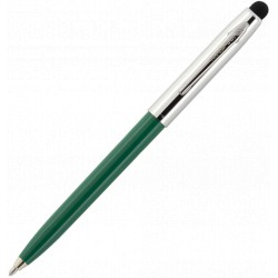 Stylo Stylet Vert semi-chromée Cap-O-Matic Fisher Space Pen