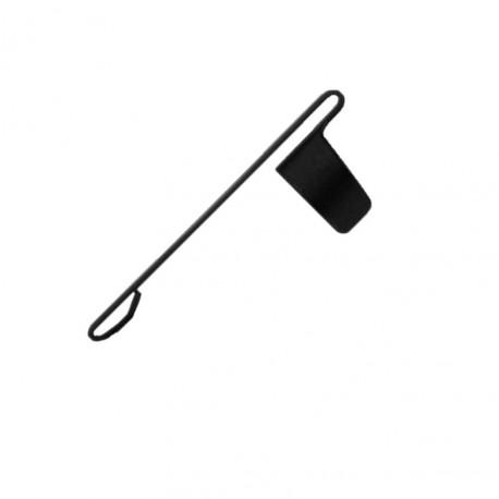 Clip de rechange Noir pour Stylo Bullet 400B  Fisher Space Pen