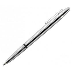 Stylo Bullet Chromé et Clip de poche Fisher Space Pen