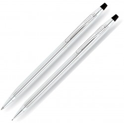 Duo Stylo et Porte-mine Classic Century Chrome Cross