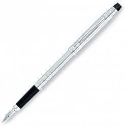 Stylo plume pointe moyenne Century ll Chrome Cross